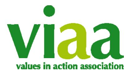 Values in Action logo