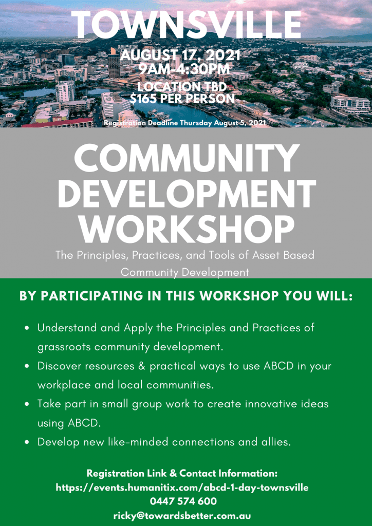 ABCD Workshop Townsville August 2021